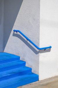 Blaue Treppe - Wassily Kazimirski - Contemporary Photography