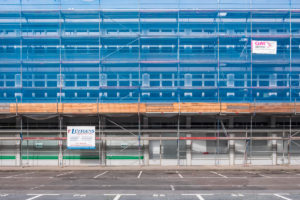 (Berlin 2017) - Berlin Baugerueste - 2x 50 x 75 cm - Edition: - www.wassily-kazimirski.com